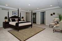 After Virtually Staged Master Bedroom